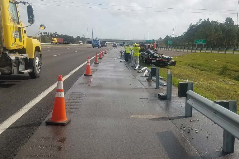 Turtle Infrastructure Partners TIP FL guardrail install and repair services