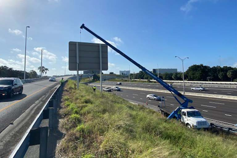Turtle Infrastructure Partners TIP FL highway signage services